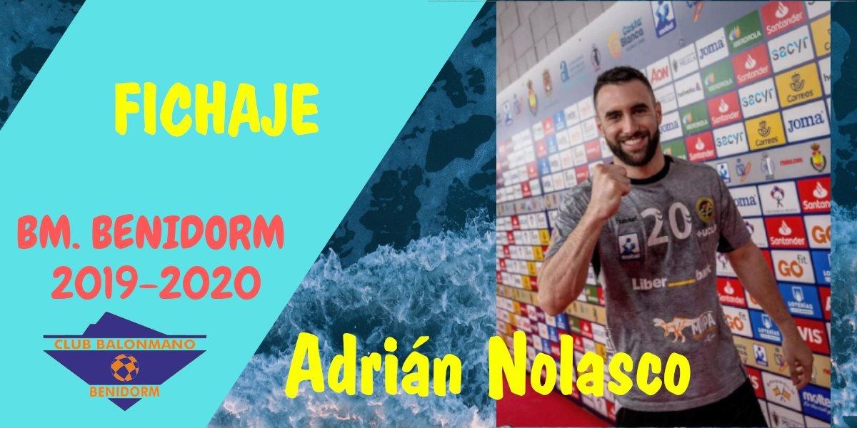 Adrian Nolasco, nueva incorporacion.