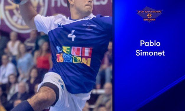 Pablo Simonet elegido como mejor lateral izquierdo de la liga Asobal 2018-2019