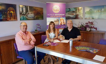 Hoteles Servigroup con el Balonmano Benidorm