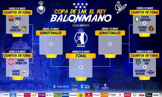 Sorteo de la Fase Final de la Copa del Rey