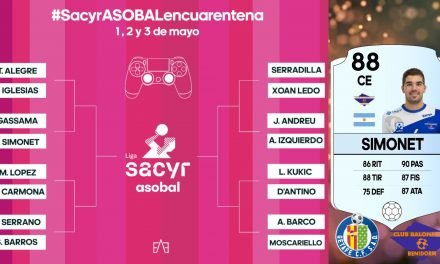 Pablo Simonet llevará el control de BM Benidorm en el FIFA 20 de Asobal