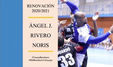 La renovación de Ángel Rivero fortalece la primera línea del BM Benidorm