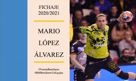 Fichaje de lujo: Mario López llega al BM Benidorm