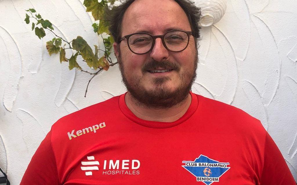 Carlos Esteve volverá a trabajar con el futuro del BM Benidorm