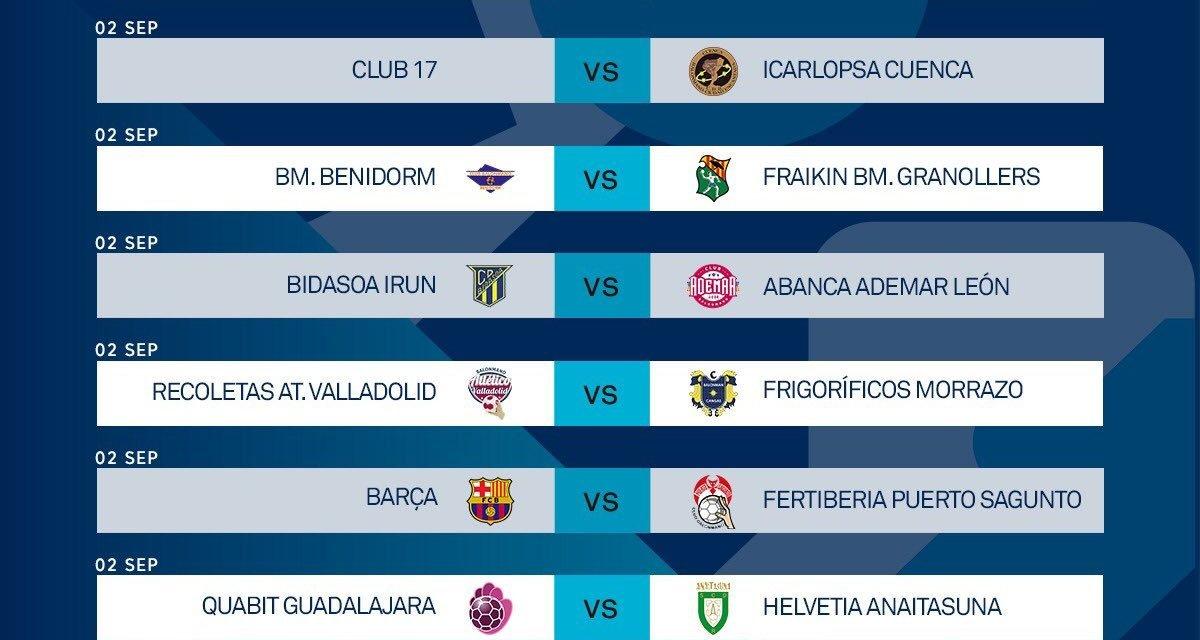 El BM Benidorm ya tiene calendario para la Liga Sacyr Asobal 2020