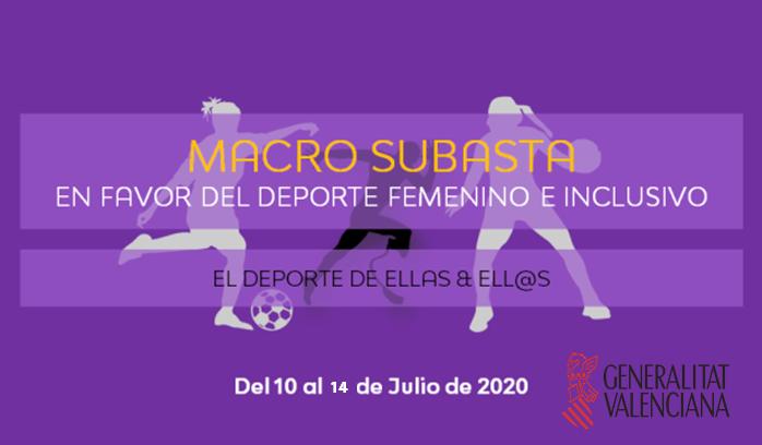 El BM Benidorm colabora con Macro Subasta Solidaria por el deporte femenino