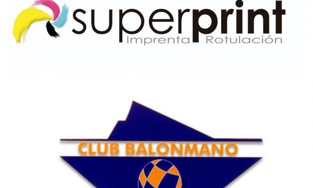 Superprint nueva empresa colaboradora del BM Benidorm