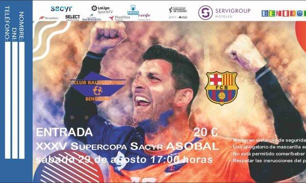 Las entradas para la Supercopa Sacyr ASOBAL a la venta mañana