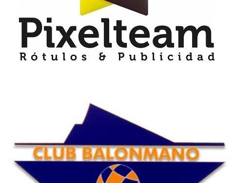 Pixelteam renueva una temporada más como colaborador del BM Benidorm