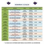 HORARIOS Y ENLACES STREAMING · SEMANA 3