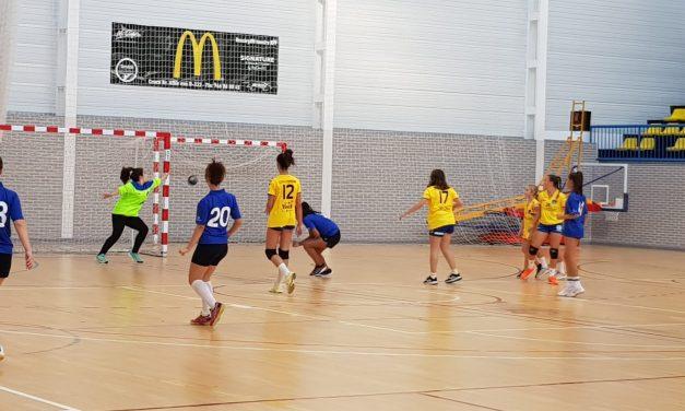 Derrota de las chicas del Infantil B a pesar de un buen partido