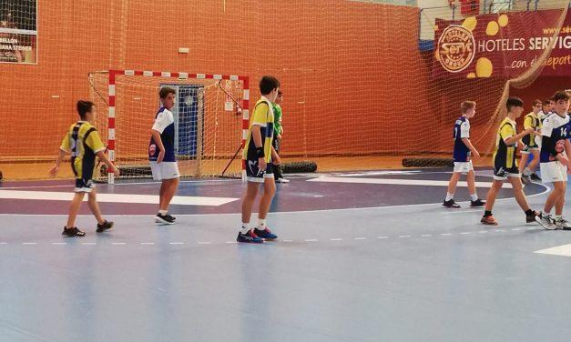 Derrota reñida del Infantil Masculino A frente al Maristas de Alicante