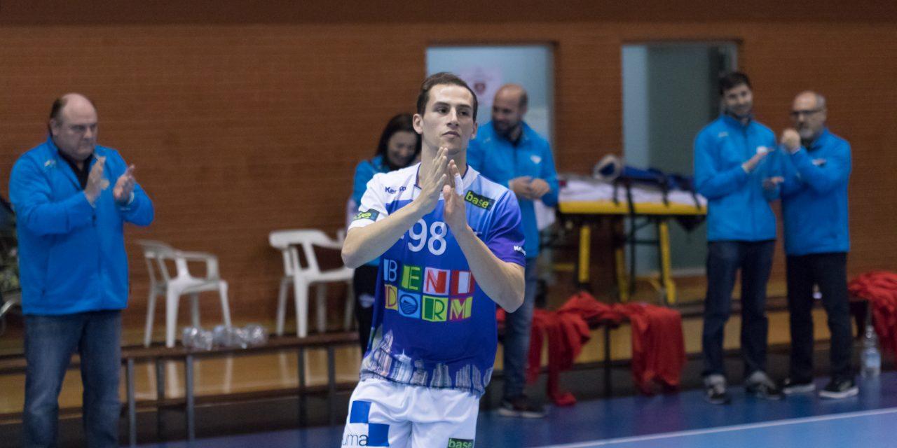 Iván Rodríguez nuevo jugador del BM Benidorm