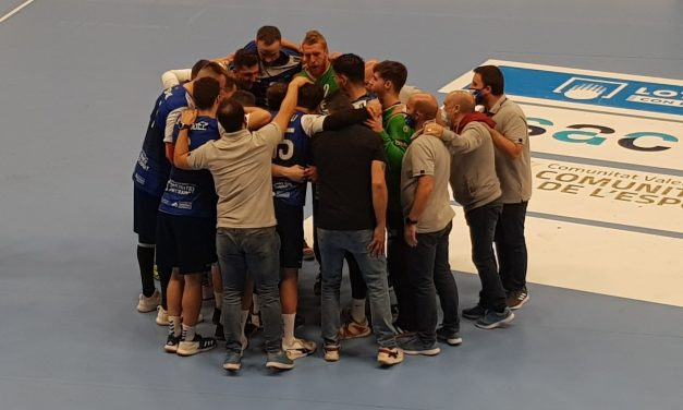 Balance de la primera vuelta del BM Benidorm en la Liga Sacyr ASOBAL