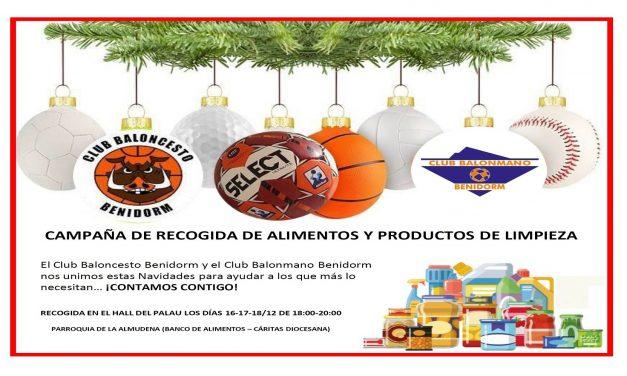CAMPAÑA DE RECOGIDA DE ALIMENTOS Y PRODUCTOS DE LIMPIEZA