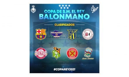 El jueves se realizará el sorteo de la Fase Final de la Copa del Rey 2021