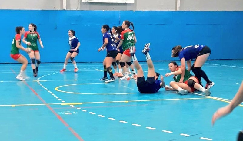 Gran partido del Servigroup Femenino de Plata pese a la derrota