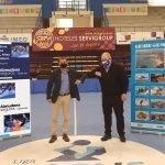 El Club Balonmano Benidorm y Almudena Seguros se convierten en  compañeros de viaje