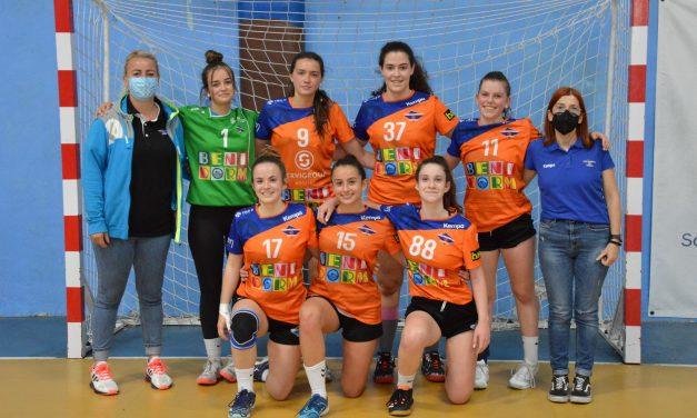 Primeros puntos en la Copa para el juvenil femenino