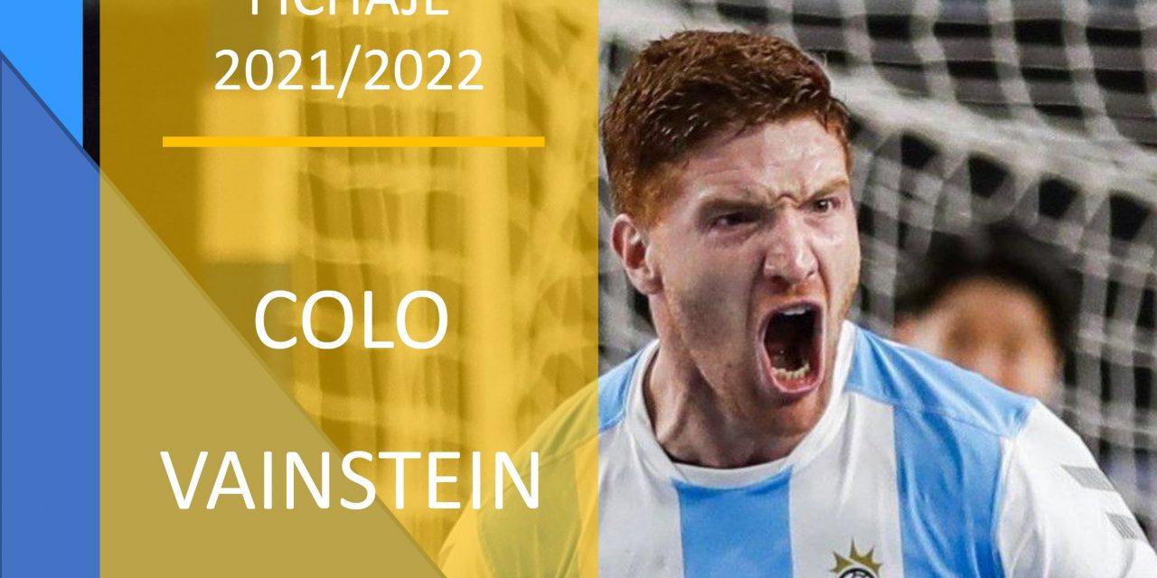El argentino Colo Vainstein nuevo fichaje para las dos próximas temporadas