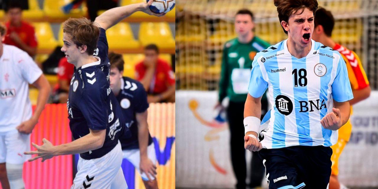 El Benidorm incorpora a dos jóvenes promesas del balonmano argentino