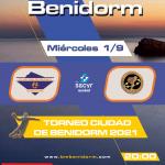 Primer partido del nuevo Balonmano Benidorm en el Palau